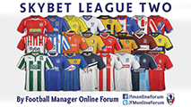 SkyBet League Two SS Kits 14/15
