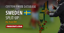 Sweden Split-up FM15 Database
