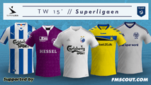 TW'15 kits - Danish Superligaen 2014/15