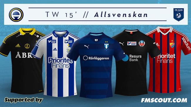 Tw 15 Kits Swedish Allsvenskan 2014 15 Fm Scout