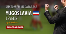 Yugoslavia Level 8 for FM15