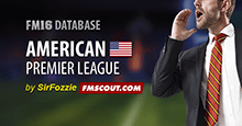 American Premier League for FM16