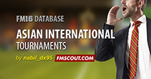 Asian (AFC) International Tournaments Collection