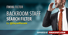 Backroom Staff Search Filter
