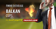 Balkan Cups for FM16