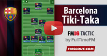 Barcelona Tiki-Taka for FM16