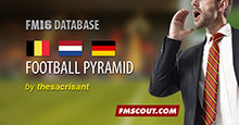 FM16 Leagues Expansion: Belgium - The Netherlands - Germany