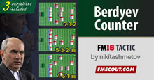 Kurban Berdyev Counter Tactics FM16