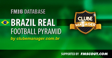 Brazil Real Football Pyramid for FM16
