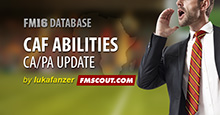 CAF Abilities FM16 Update