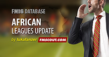 CAF African Leagues FM16 Update