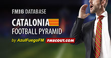 Catalonia Football Pyramid FM16