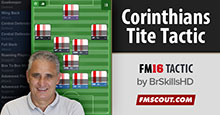 Corinthians' Tite Tactics for FM16