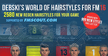 Debski's World of Hairstyles - Regens Hair Pack for FM16