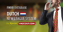 Dutch New League Structure 2016/17 + Level 4 Database