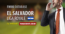 Liga Royale FM16 - El Salvador Fantasy League