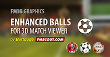 Enhanced 3D Match Balls for FM16