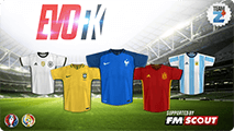 EVO Football Kits - EURO 2016 & Copa America 2016 nations