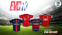 Evo Football Kits - Season 2015/16