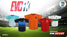 EVO Football Kits - Nations 2