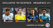 Exclusive'10™ Faces MEGAPACK v1.1