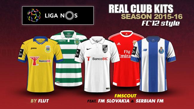 Portugal Liga NOS kits 2015/16