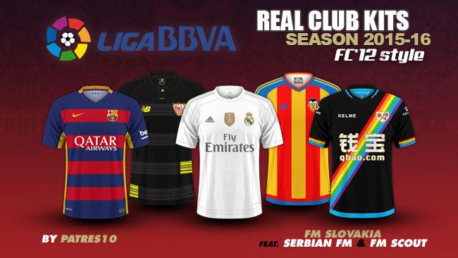Spanish La Liga Kits 2015/16