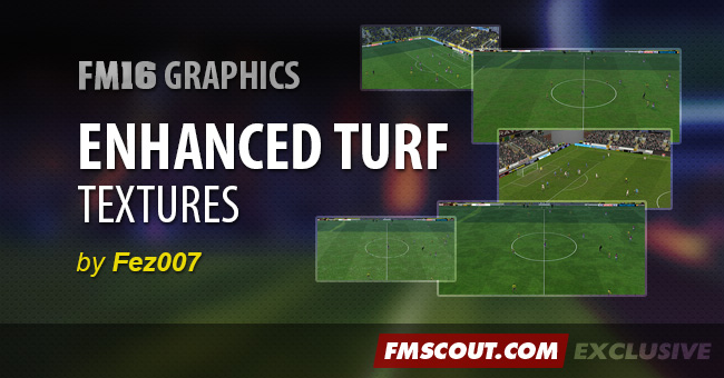 FM 2016 Misc Graphics - Fez's Enhanced Turf Textures FM16