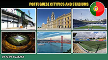 Portuguese cities and stadiums pack