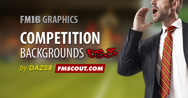 FM 2016 Misc Graphics - Football Manager Competition Backgrounds