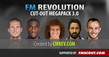 FM 2016 Cut-Out Faces Megapack