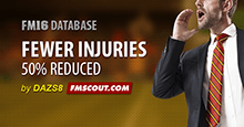 Fewer Injuries for FM16
