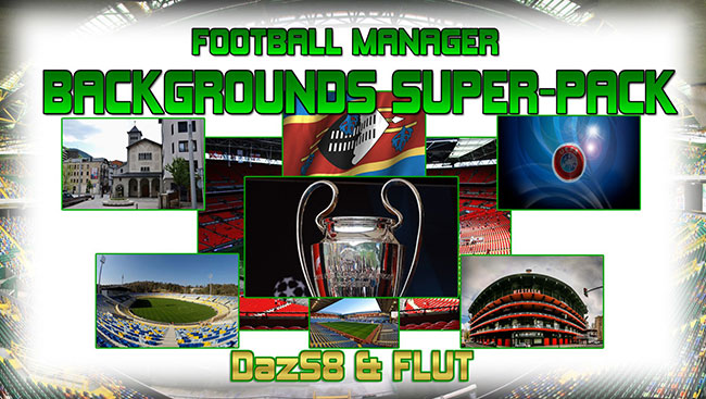 FM 2017 Misc Graphics - Football Manager Backgrounds Super Pack