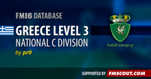 Greece National C Division for FM16