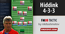 Hiddink 4-3-3 Tactics FM16
