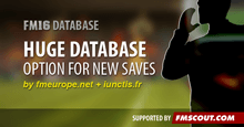 Huge Database option for FM16