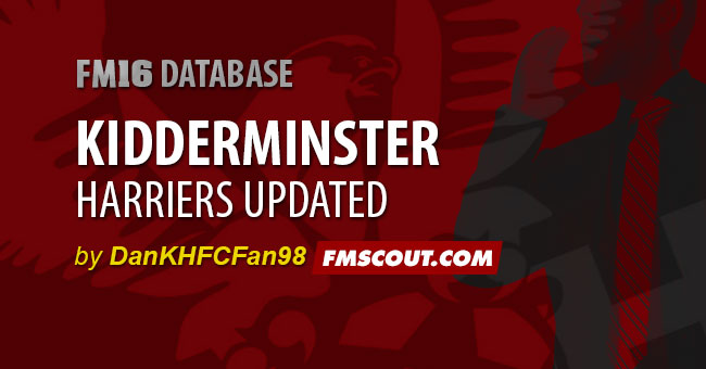 FM 2016 Data Updates - KHFC Updated for 2016-17