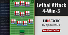 Lethal Attack 4-Win-3