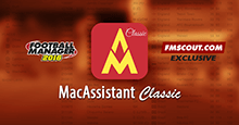 MacAssistant Classic for FM16 (Early Access)