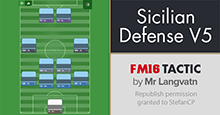 Mr Langvatn's Sicilian Defense V5 - Best FM16 Tactic