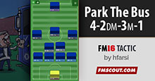 Park the Bus 4-2-3-1 Mourinho Style