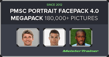 PMSC Portrait & Icon Facepack 4.02 - 182.100 pictures