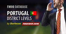 Portugal District Levels (44 leagues) for FM16.3