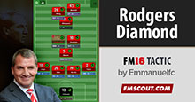 Rodgers Diamond Tactics for FM16
