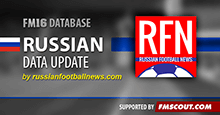 Russian Data Update for FM16