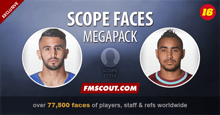 Scope Faces Megapack 2016