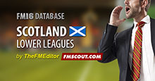 Scotland Level 7 for FM16 fixed for Patch 16.3