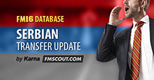Serbian Transfer Update for FM16