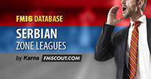 Serbian Zone Leagues for FM16