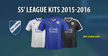 SS' League Kits 2015-2016